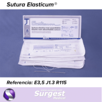 Suturas Elasticum Cabeza